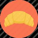 bakery, bread, croissant icon