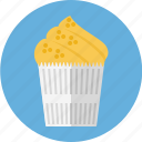 bakery, cupcake, pie icon