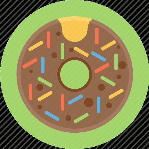 donut, sprinkles, sweet icon