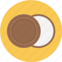 chocolate, cookie, cookies, oreo, oreo cookie, vanilla icon