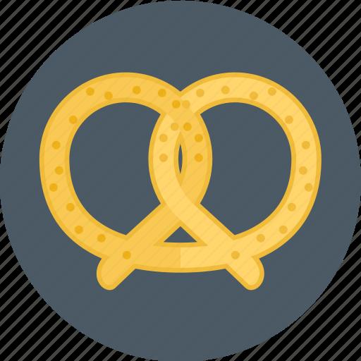 bakery, cookie, pretzel icon