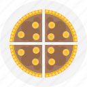 chocolate, dessert, pie, slice, slice of pie, sliced pie icon