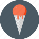 cone, cream, gelato, ice, ice cream, soft, soft ice icon