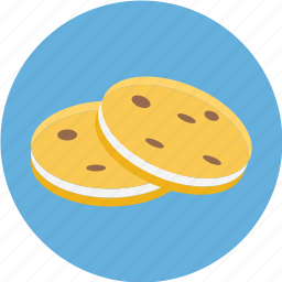 cookies, two, two cookies icon