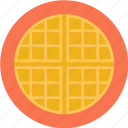 bakery, pie, waffle icon