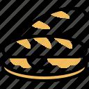 baguette, bread, breakfast, french, pastry