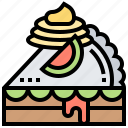 apple, bakery, dessert, pie, sweet icon
