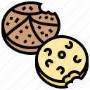 biscuits, cookies, dessert, snack, tasty icon