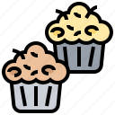 bakery, cupcake, dessert, muffins, snack icon