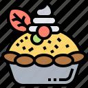 crust, fruits, pastry, pie, tarts icon