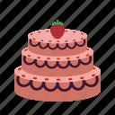 birthday, cake, chocolate, cream, dessert, food, party