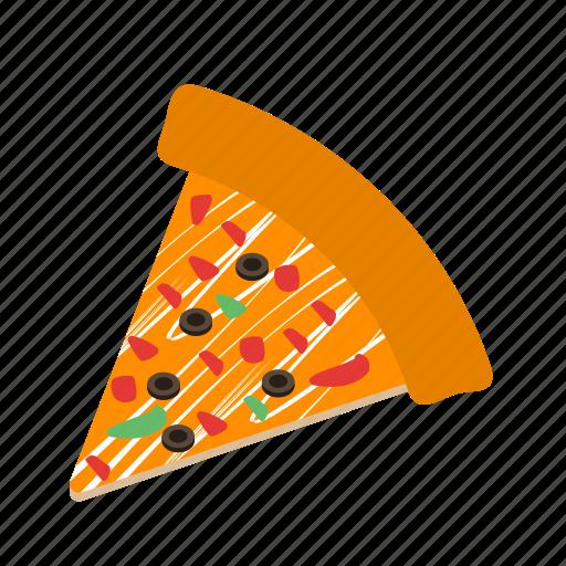cheese, fast food, food, italian, pizza, slice, snack icon