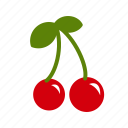 berry, cherries, cherry, eat, food, fresh, natural icon
