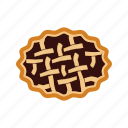 crust, delicious, dessert, food, homemade, pie, pies icon