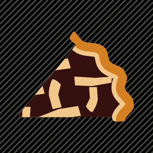 crust, delicious, dessert, food, homemade, pie, slice icon