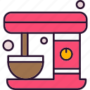 coffee, machine, drink, food