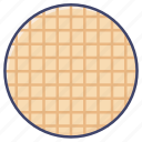 breakfast, wafer, waffle