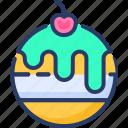 cake, dessert, pie, red, sponge, strawberry, sweets