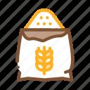 bag, bakery, cooking, flour, ingredient, natural, wheat