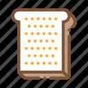 bread, breakfast, make, piece, sandwich, sliced, toast