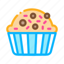 baked, cake, covered, delicious, food, muffin, yummy