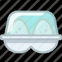 baking, container, eggs, ingredients, kitchen, yumminky icon
