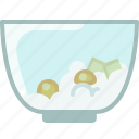 baking, butter, dish, egg, flour, ingredients, yumminky icon