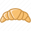 baking, breakfast, croissant, food, kitchen, sweet, yumminky icon