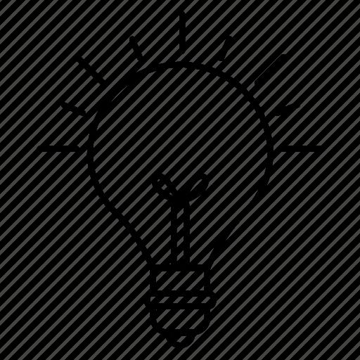 basic, bright, idea, lamp, ui icon