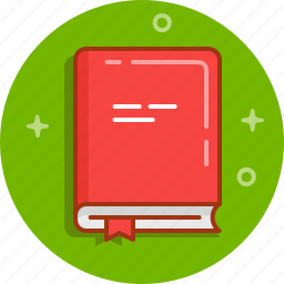 book, library, notebook, read, textbook icon