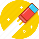 clean, eraser icon