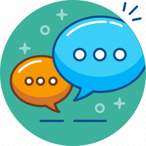 bubble, chat, discussion, message, speech icon