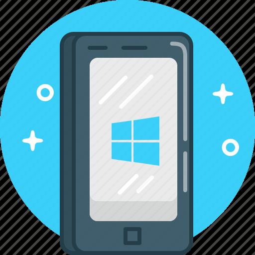 mobile, phone, smartphone, windows icon