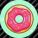 bakery, dessert, donut, food icon
