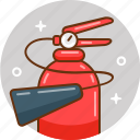 extinguisher, fire, tools icon