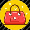 bag, fashion, girl, shopping, woman icon