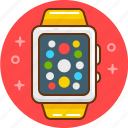 apple, device, iwatch, smart, smart watch, watch icon