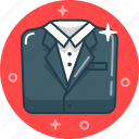 clothes, fashion, jacket, style, suit icon