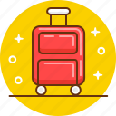 bag, luggage, suitcase, travel, trip icon