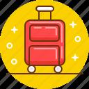 bag, luggage, suitcase, travel, trip icon