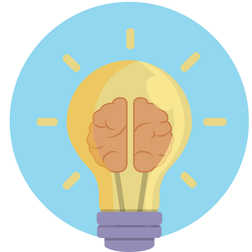 aha, brilliance, idea, think, thought icon