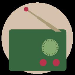 fm, music, radio, trasistor, vintage icon
