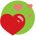heart, hearts, like, love