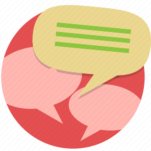 chat, instant message, message, speech bubble, talk icon