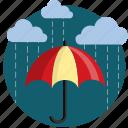cloud, clouds, cover, protect, rain, shade, umbrella