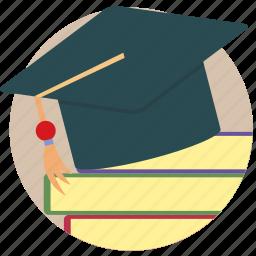 academia, academic, college, graduate, scholar, university icon