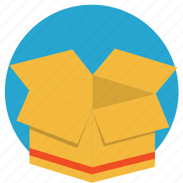 box, contain, container, move, storage, store icon