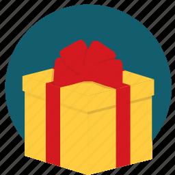 bonus, gift, present, surprise icon