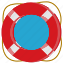 life wheel, lifeboat, safe, save icon