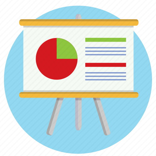 graph, meeting, powerpoint, presentation, statistics, stats icon
